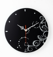 圆时钟-镜底