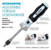 MICROMETER ADJUSTABLE TORQUE SCREWDRIVERS