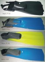 Diving Fins, plastic