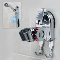 Showerhead Wall Bracket Adjustable Showerhead Wall Bracket With Suction Cup