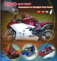 Cens.com Motorcycle Battery/MF motorcycle batteries/ conventional motorcycle batteries/ VRLA batteries KOYO BATTERY CO., LTD.