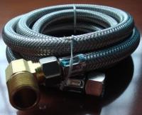洗碗机白铁编织管