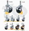 地球輪(插梢) | 家具用圓型球輪 (Ball Caster)