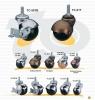地球輪(螺絲) | 家具用圓型球輪 (Ball Caster)