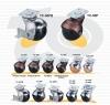 地球輪(平盤) | 家具用圓型球輪 (Ball Casters)
