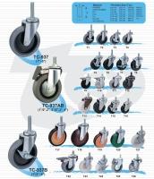 輕型活動輪子(螺絲)     一般荷重型腳輪  (Light Caster)