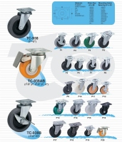 轻型活动轮子(平盘)  |  一般荷重型脚轮  (Light Caster)