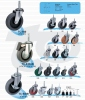轻型活动轮子(长心)     一般荷重型脚轮  (Light Caster)
