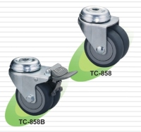 医疗仪器用脚轮 | 中荷重双轮型轮子  (Medical Caster)