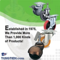 脚轮 & 轮子:活动轮、刹车轮、定向轮、TPR轮、PU轮、橡胶轮、尼龙轮...