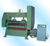 Metal stretch net making machine