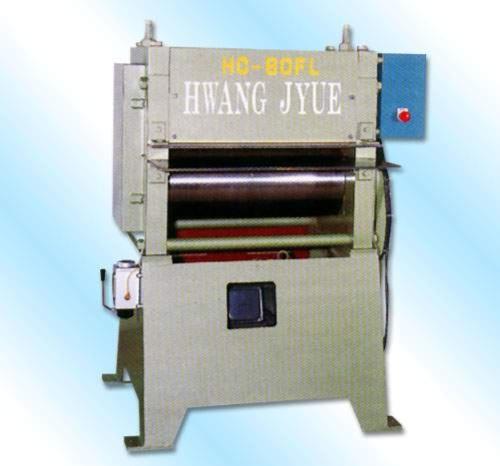 Flattening machine