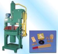 Circular incense-pressing machine