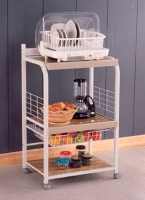 3 TIER KITCHEN RACK