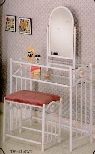 陶瓷心型化妆台椅
