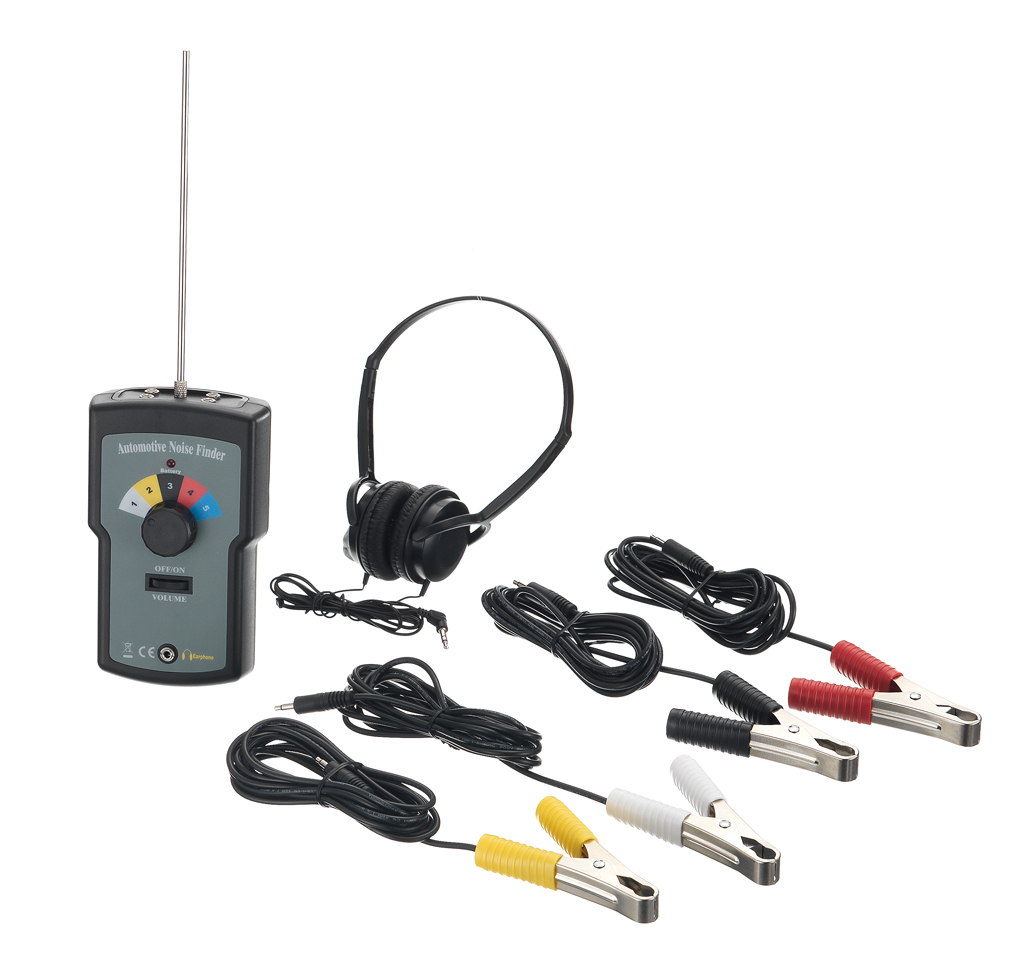 Multi-Channel Automotive Noise Finder