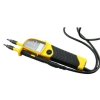 Voltage tester with LED/LCD display