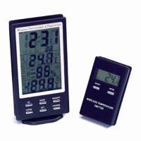 Wireless Temperator & Hygrometer and Emitter Temperature