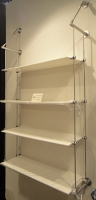 Rod display system-Wall to wall