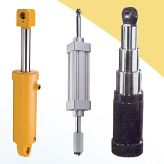 Various kinds hydraulic cylinder, telescope cylinder, pneumatic cylinder, piston rod, machine shaft,