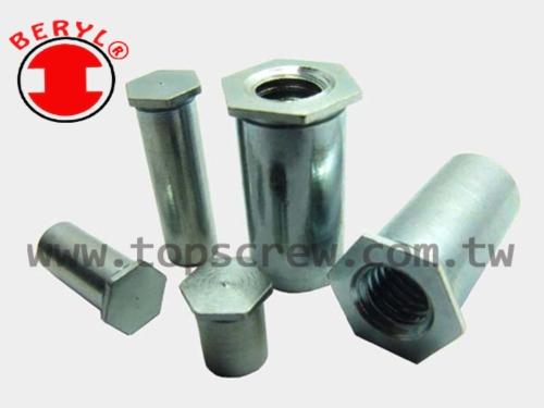 擠壓扣件 - TSC1 壓鑄螺母