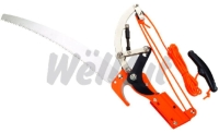 Ratchet 2-Pulley Tree Pruner & Saw