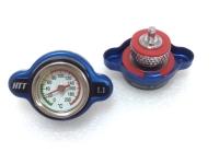 Pressure Adjustable Radiator Cap w Thermometer