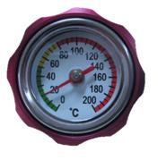 Motorcycle Engine Oil Cap w Thermometer
