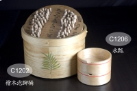 Cens.com Juniper Foot Bath Barrels W/Scoop KENSTAR BENDING BOARD WOOD CO., LTD.