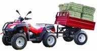 拖车型农用行沙滩车