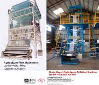 High Speed Inflation Blow Film Making Machine For Agriculture Purpose