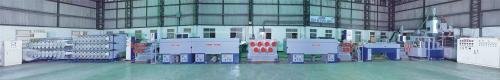 MN_P型聚酯拉鍊抽絲製造機