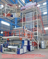 Three Layer Co-Extrusion Blown Film Line