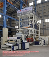 Three Layer Co-Extrusion Inflation Machine