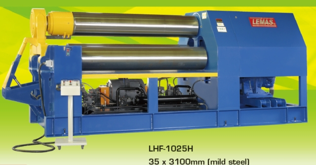 Hydraulic Double Pinch Rolls