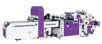 DOUBLE-LANE T-SHIRT BAG MAKING MACHINE