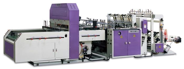 TRIPLE-LANE T-SHIRT BAG MAKING MACHINE