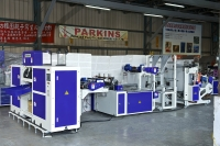 Automatic Sealing Perforating and Winding Bag Making Machine in STAR Sealing