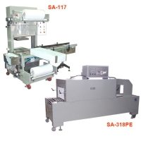 Auto Single-Lane Collation Packaging Machine & PE Shrink Packaging Machine