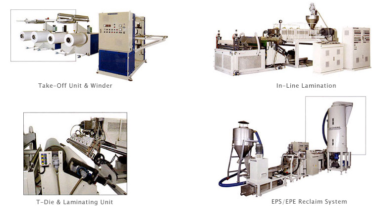 Expanded PS/PE Sheet Extrusion Line