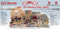 Square type friction discs & brake linings