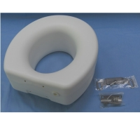 Elevated Elongated Toilet Seat