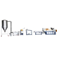 Single Stage Extrusion Pelletizing Machine