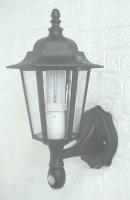 Motion sensor light with LED Nightlight