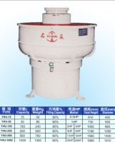 Three Dimensional Rotary Vibration Grinding Barrel