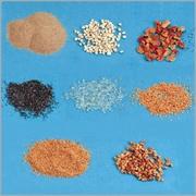 金鋼砂、核桃粒、各類金鋼砂