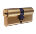 Iron Profile Cylinder With Titanium Plated
