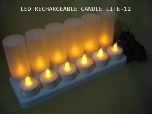 LED Rechargeable Candle Lite