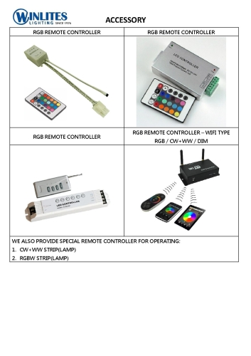 VARIOUS REMOTE CONTROLLER
