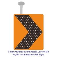 太阳能无线連控反光导标